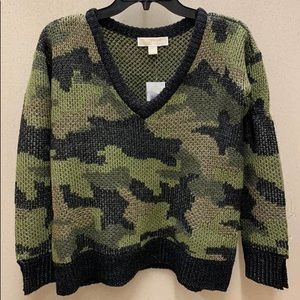 NWT Micheal Kors Army Sweater size XS
